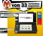 MediaMarkt - Nintendo 3DS XL ab 20Uhr für 166€
