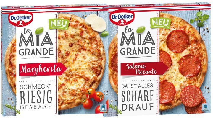[Netto Marken Discount] La Mia Grande Pizza von Dr. Oetker in verschiedenen Sorten 2,85€ oder 2,28€ mit - 20% Coupon!