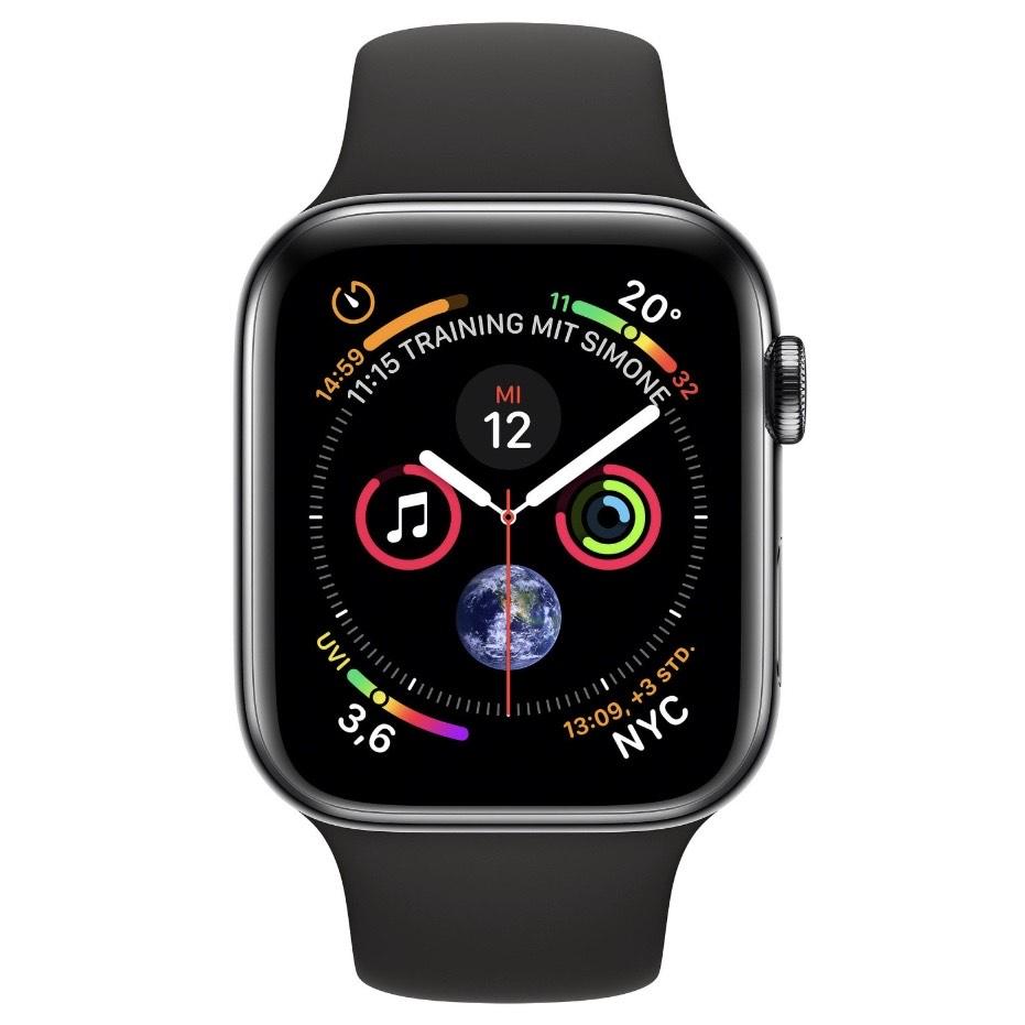 Apple Watch Series 4 Edelstahl GPS + Cellular 44mm Schwarz