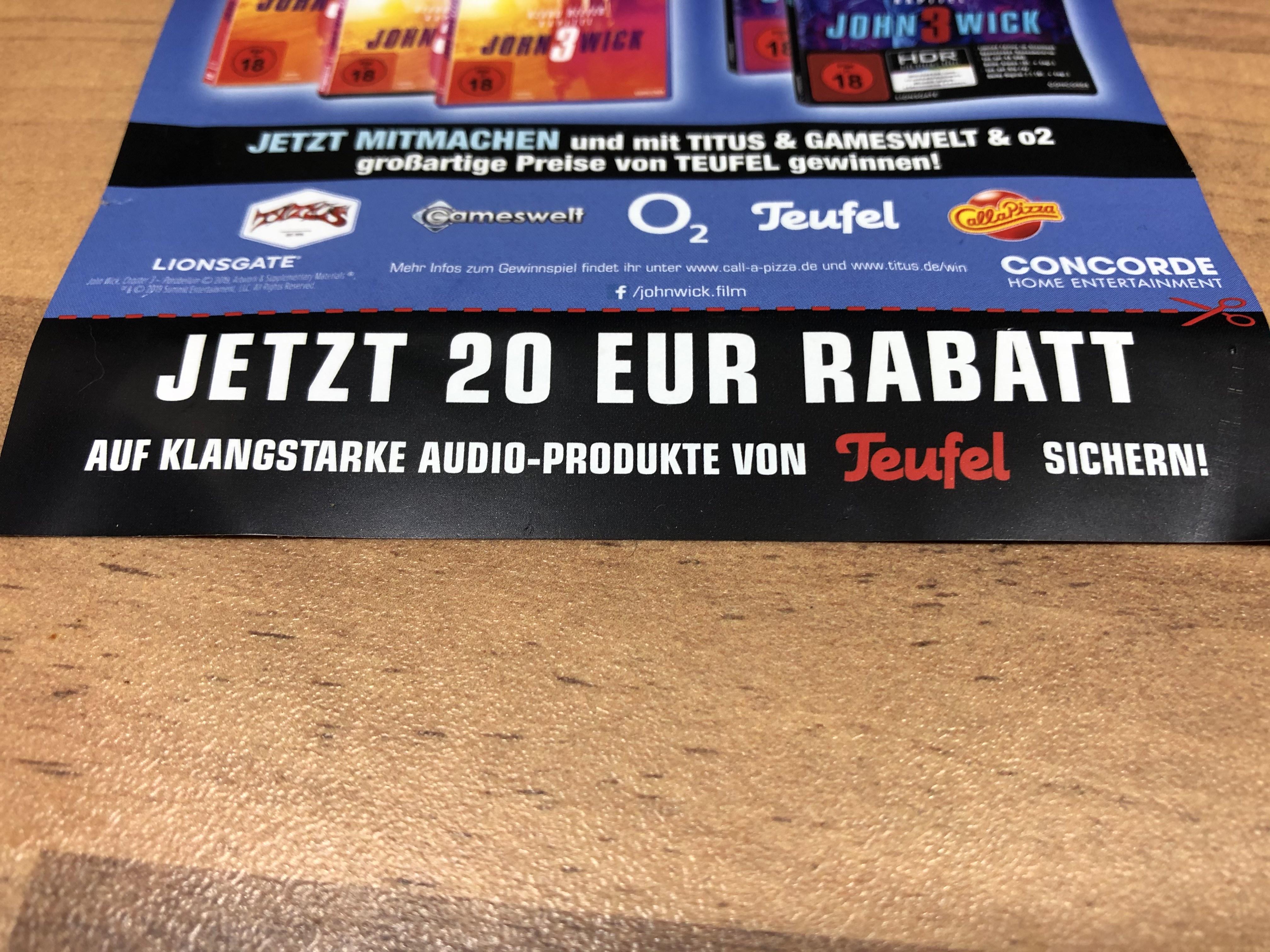 20€ Rabatt
