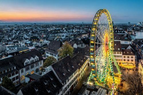 2 CHF Rabatt fürs Riesenrad auf der Basler Herbstmesse (Basel CH)