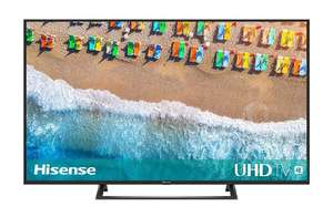 [Amazon] - Hisense H50BE7200 126 cm (50 Zoll) Fernseher (4K Ultra HD, HDR, Triple Tuner, Smart-TV)