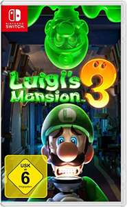 amazon: Nintendo Luigi's Mansion 3 für die Switch