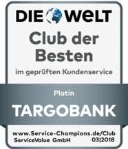 Targobank - Prämie von 0,75% bis zu 5.000 Euro für Depotübertrag - 1 Jahr Haltefrist
