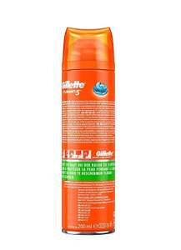 Gillette Fusion5 Ultra Sensitive Rasiergel Für Männer, 3er Pack (3 x 200 ml)