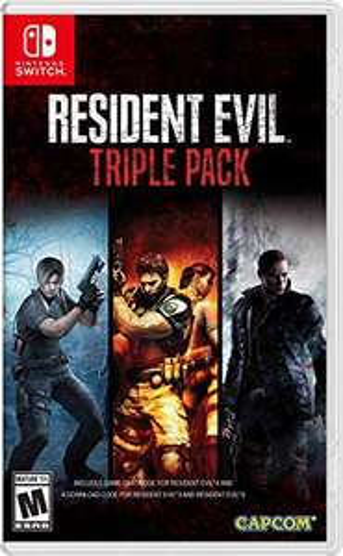 Resident Evil Triple Pack - Nintendo Switch für 49,72€ inkl. Versand (Amazon.com)