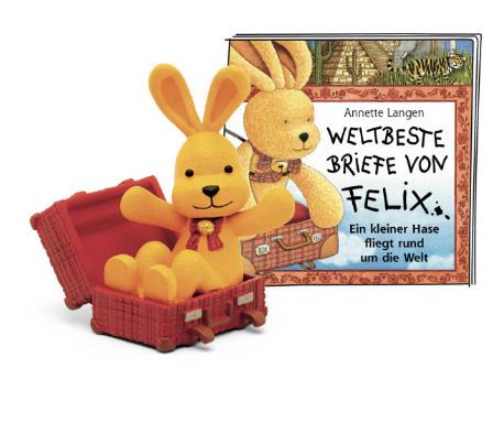 [Amazon Prime] tonies Hörfigur Felix Hase für die Toniebox: Weltbeste Briefe von Felix