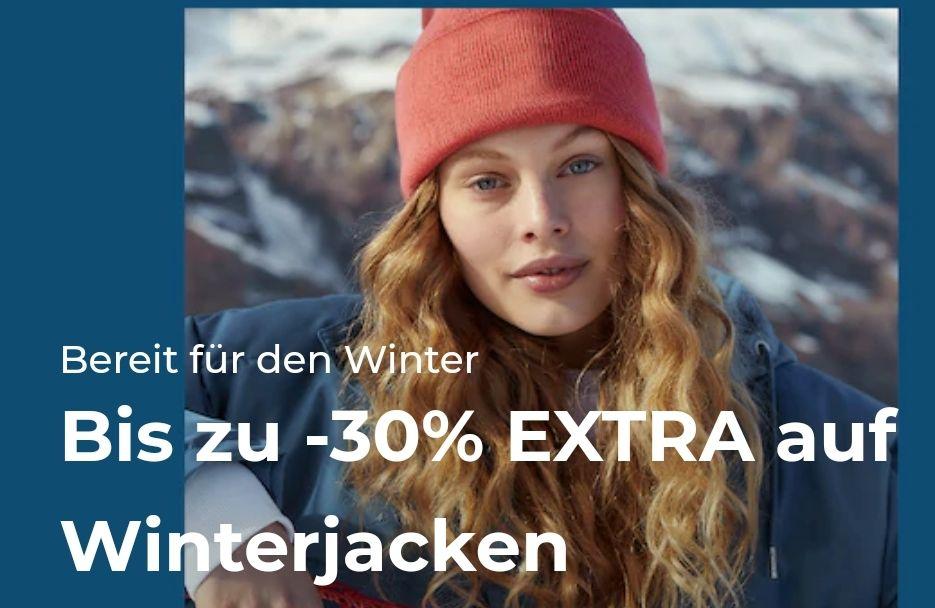 About You: Bis zu 30% Rabatt auf Winterjacken +10% (+ SHOOP)