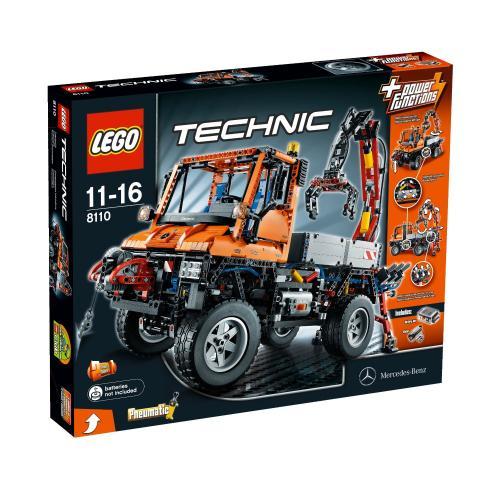 LEGO Technic 8110 Unimog U400 mit Qipu 116,99€