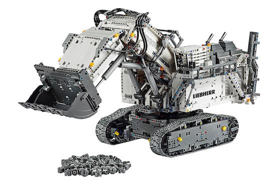 (SCHWEIZ) LEGO Technic Liebherr Bagger 42100