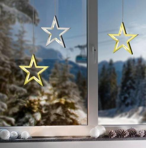 Weihnachtsdeko im Sale bei Brands4Friends, z.B. Sompex LED-Dekostern