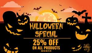 25% auf alles - Halloween Sale bei Casual Couture