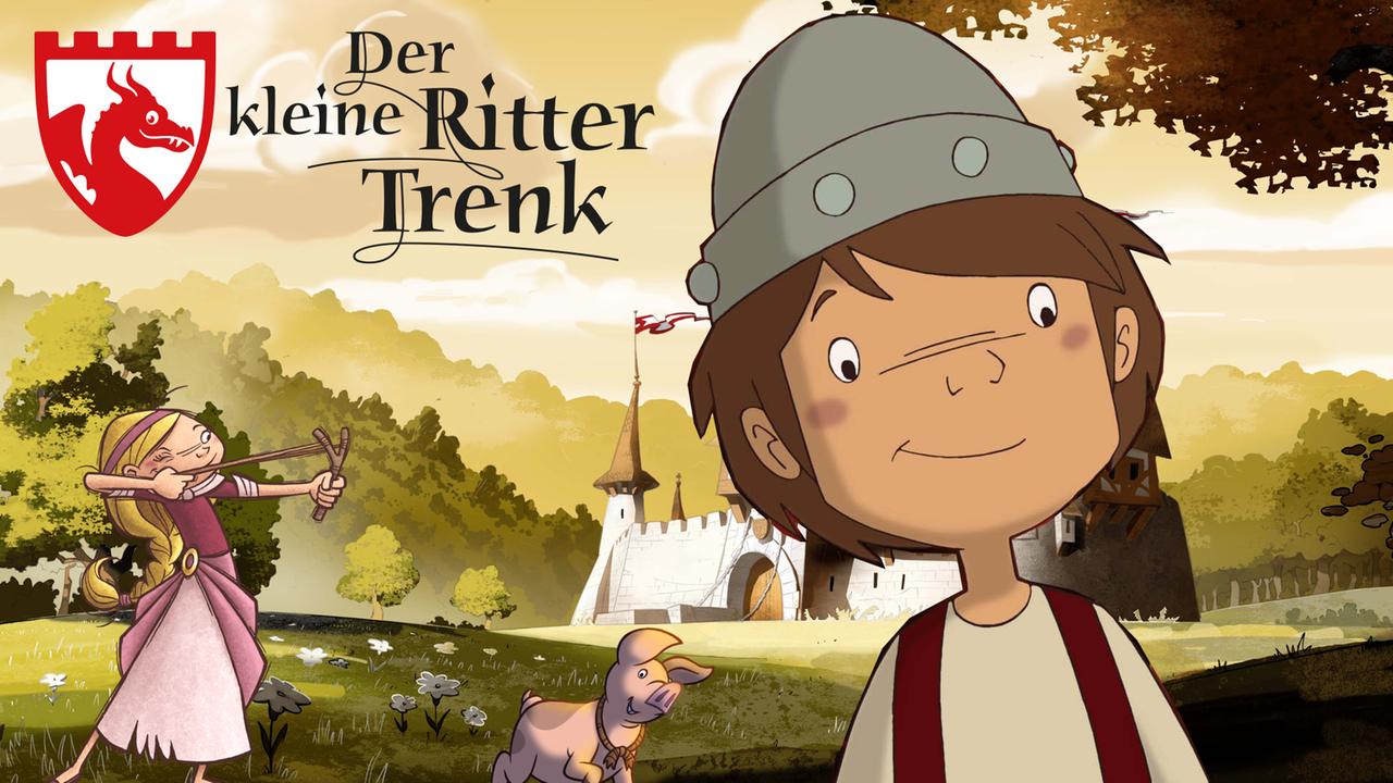 Der kleine Ritter Trenk [ZDF Mediathek] - Sehr gut gemachte Zeichentrickserie für Kinder ab 4 Jahren