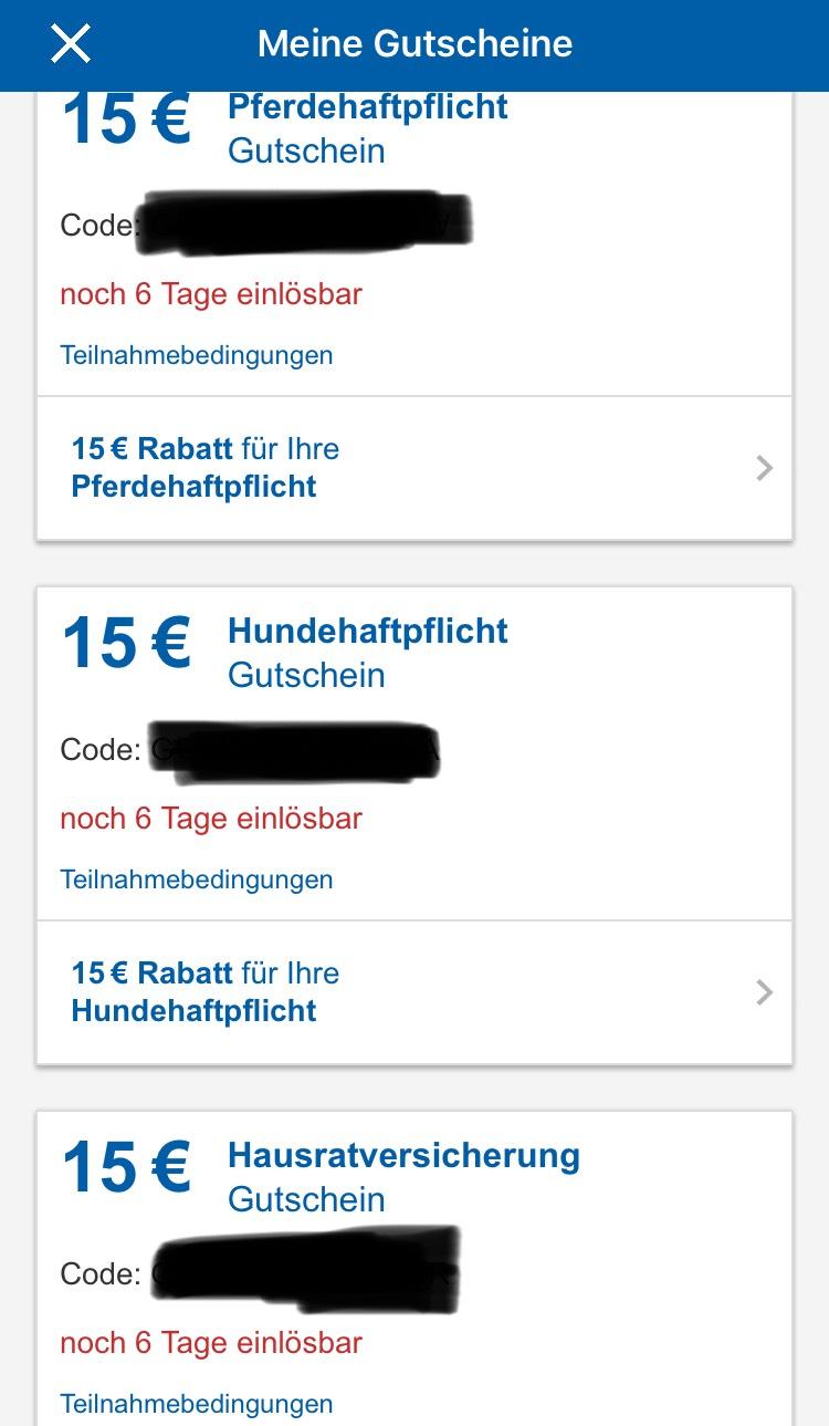 [CHECK24] 15€ Rabatt auf Pferde-, Hundehaftpflicht sowie Hausratversicherung