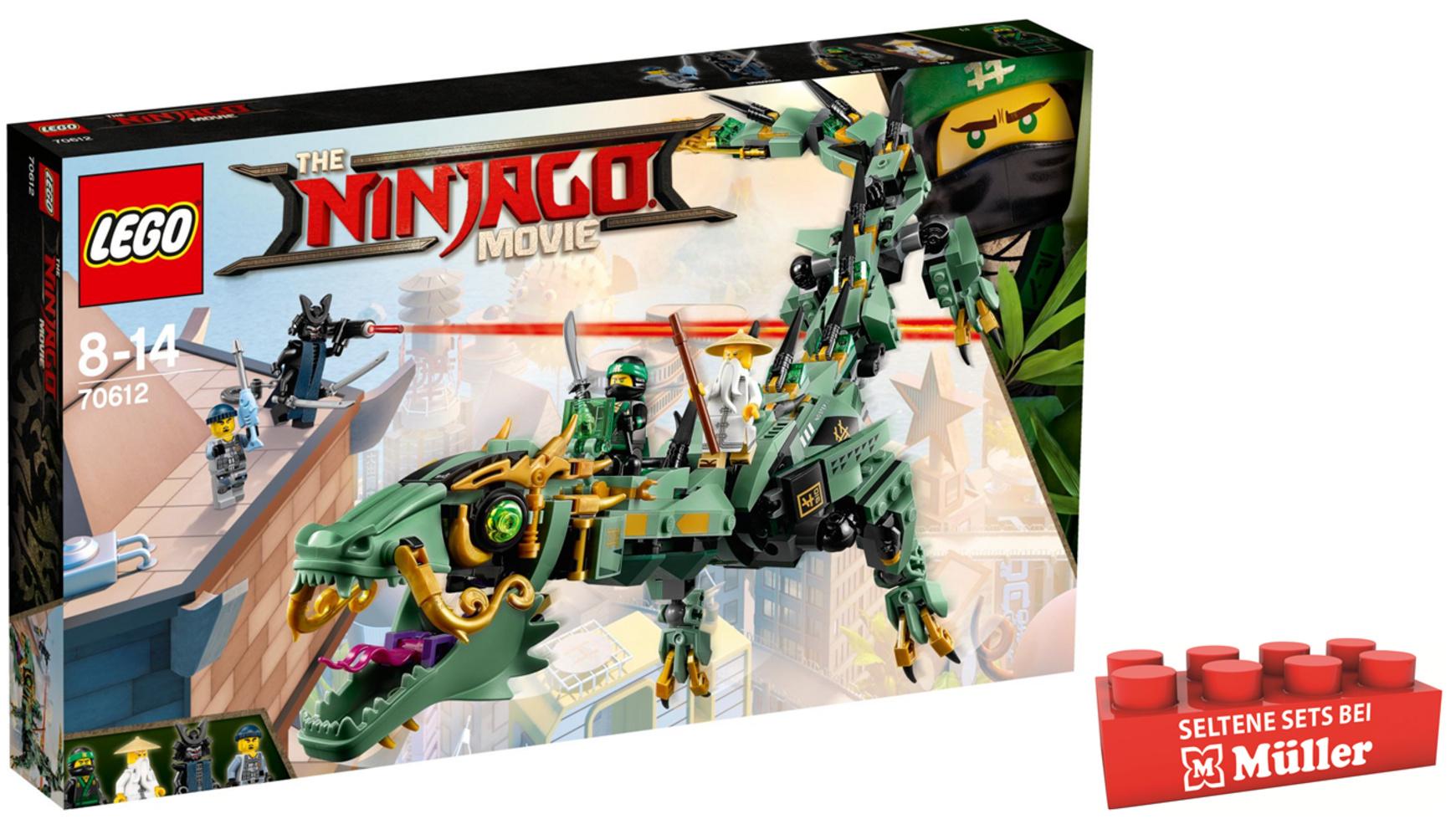 LEGO Ninjago - 70612 Mech-Drache des Grünen Ninja, bei Müller