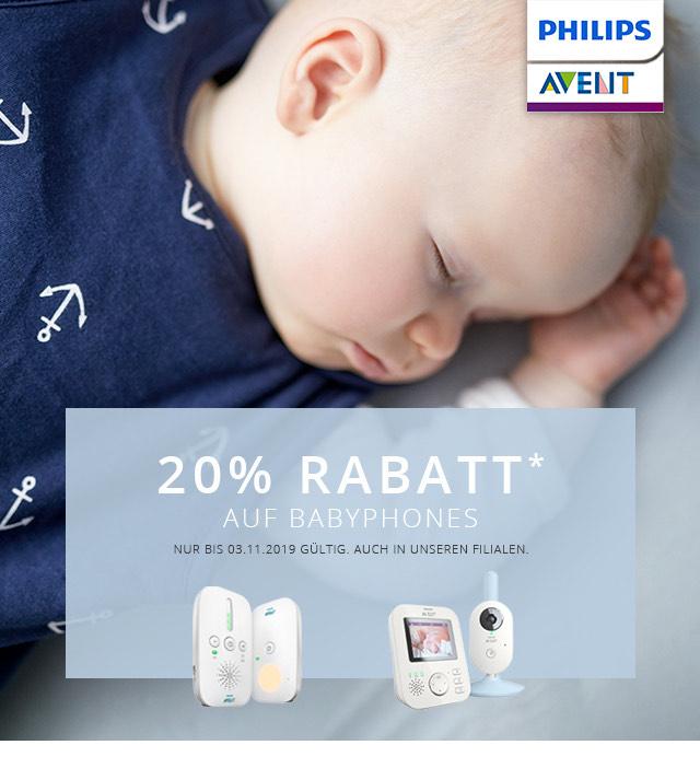 20% auf babyphones von avent bei babywalz