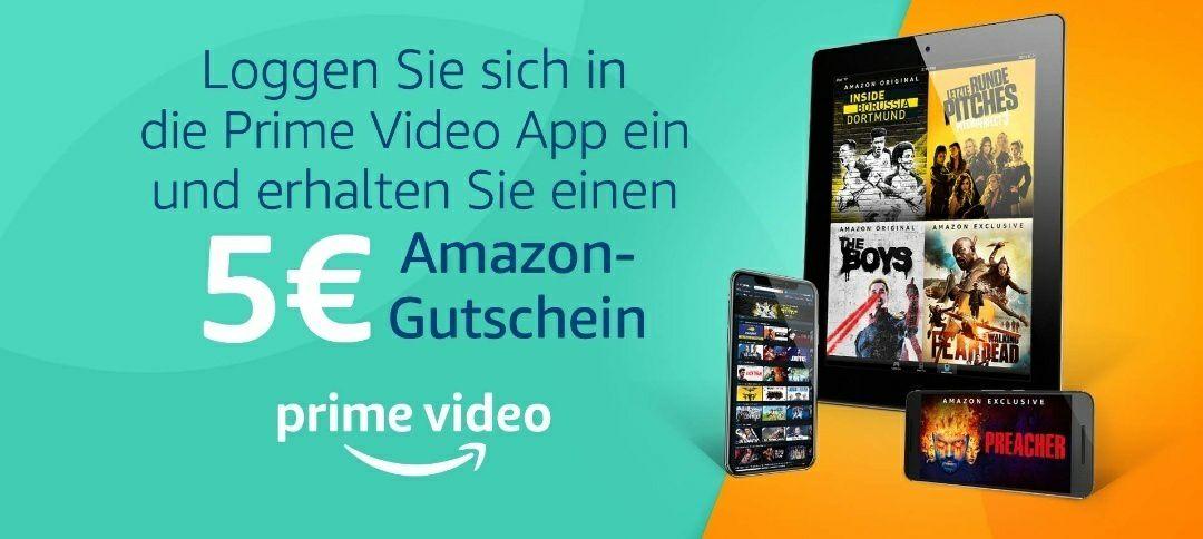 [Amazon.de] 5 Euro Amazon Gutschein ab 20 Euro Einkaufswert - ausgewählte Prime Mitglieder