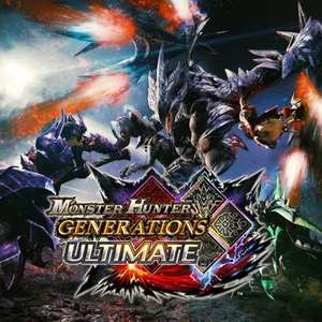 Monster Hunter Generations Ultimate (Switch) für 22,40€ (eShop US)