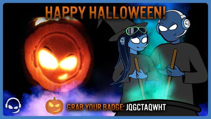 Teamspeak Halloween Badge bis 4. November einlösbar