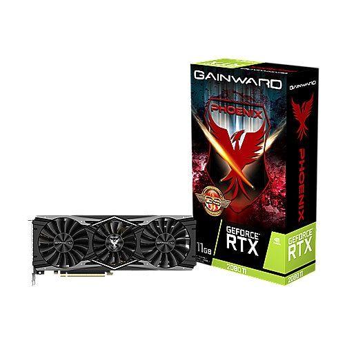 Gainward GeForce RTX 2080Ti Phoenix GS 11GB GDDR6 Grafikkarte 3xDP/HDMI/USB-C [Cyberport]