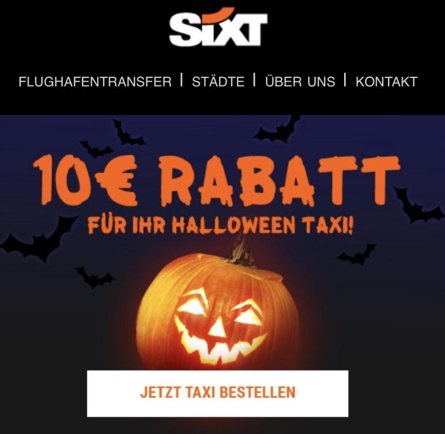 Sixt Ride: 10€ für Ihre Taxifahrt geschenkt. Freebie möglich