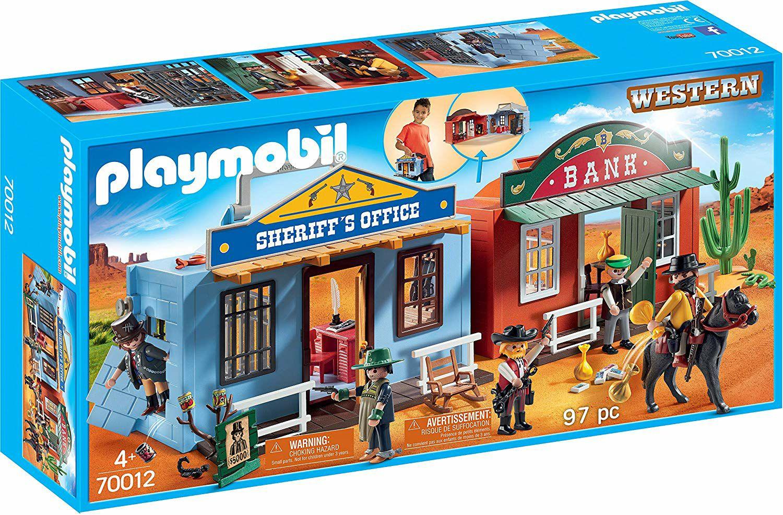 Playmobil Mitnehm-Westerncity (70012) für 15€ (Amazon Prime)