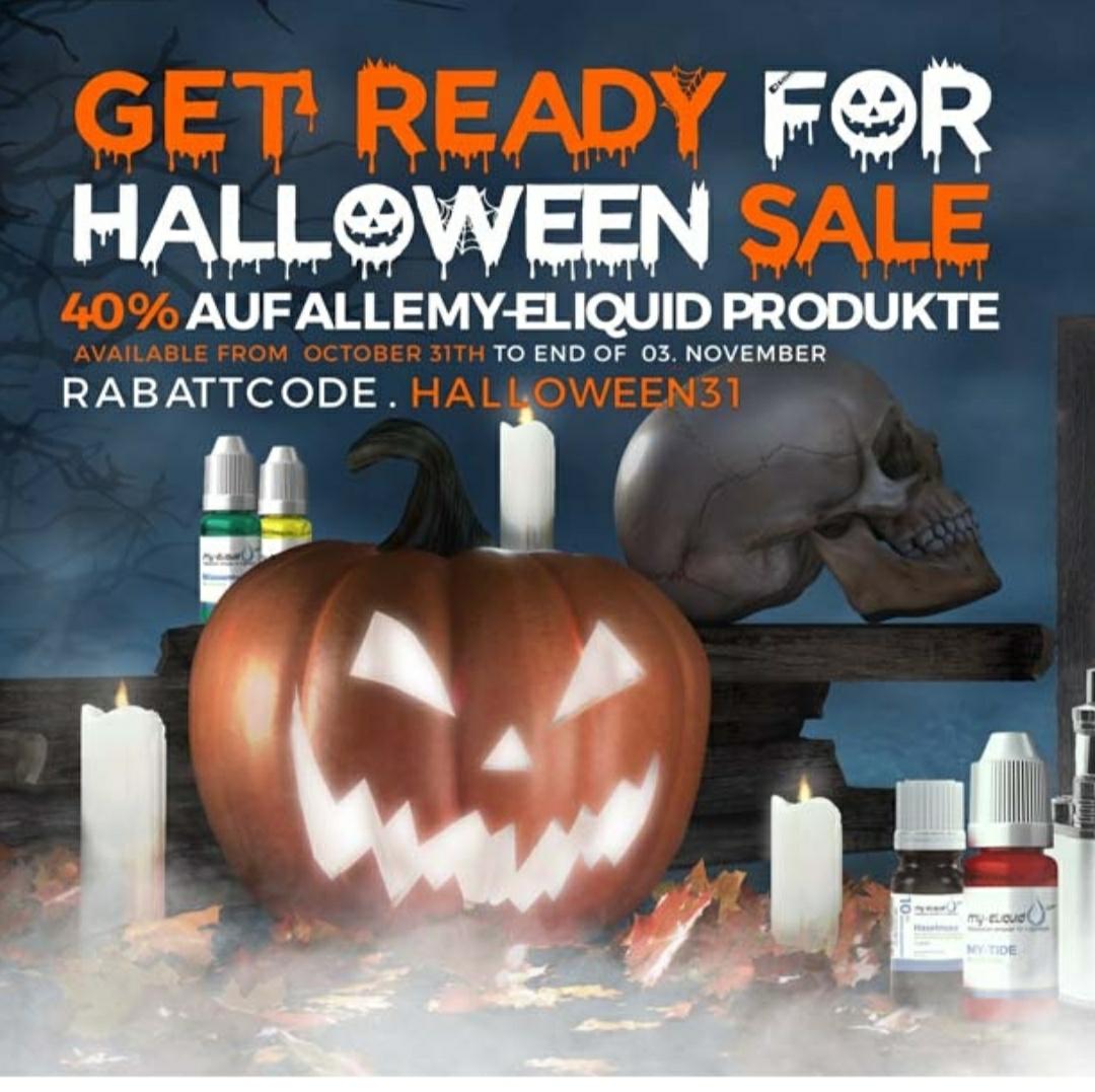 Halloween Sale bei my-eliquid