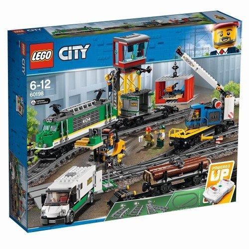 LEGO City 60198 Güterzug für 110,98 € bei Spielemax