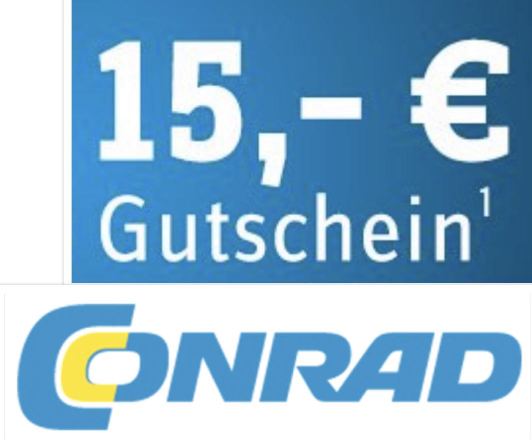 Conrad: 15€ Rabatt auf fast alles mit 89€ MBW - Online und in der Filiale - bis 03.11.