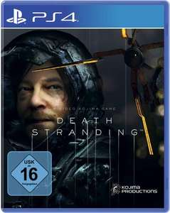 Death Stranding (Playstation 4) DE-USK 49,00€, PEGI 40,90€, Special Edition 62,90€ oder Collector's Edition 249,90€ (Mastercard)