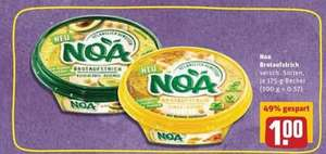 [REWE] Freebie NOA Brotaufstrich mit Coupon ab 11.11.2019