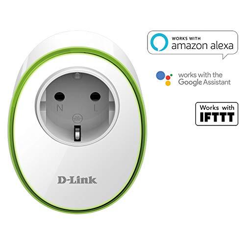 (Amazon prime) D-Link DSP-W115 mydlink WLAN Smart Steckdose-/ plug (kompatibel mit Google Assistant/Google Home und Amazon Alexa) für 14,99€