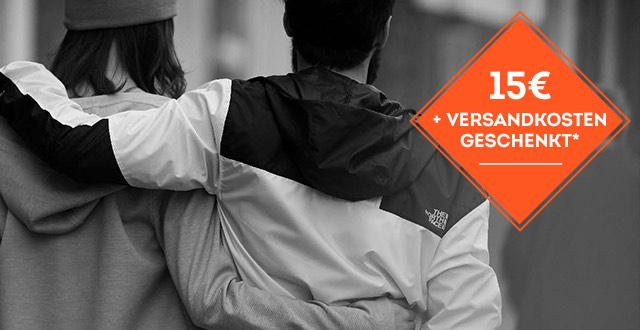 Sportscheck 15€ Gutschein/ 50€ mbw.