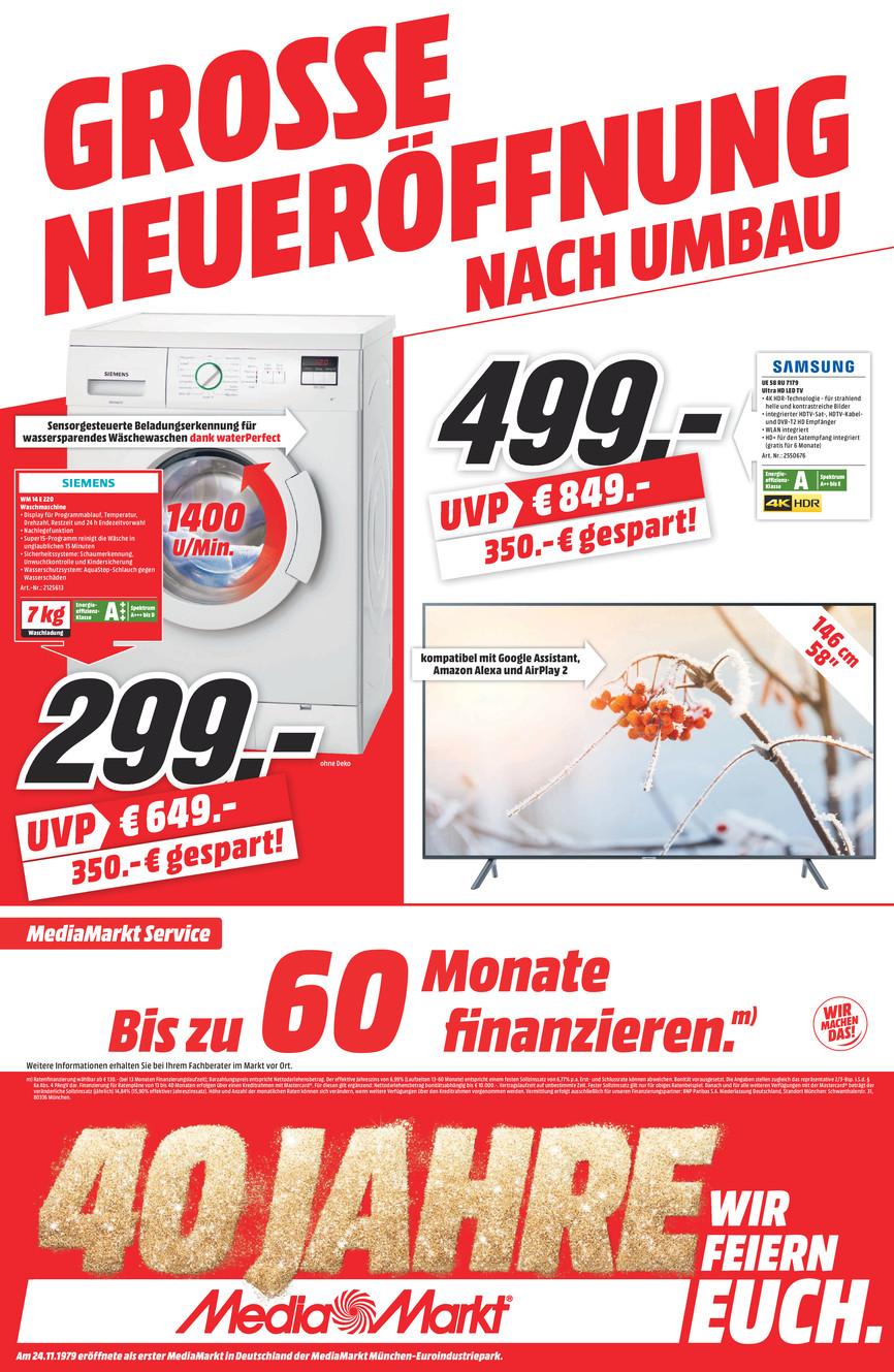 (Lokal Heilbronn) Siemens Waschmaschine WM 14 E 220