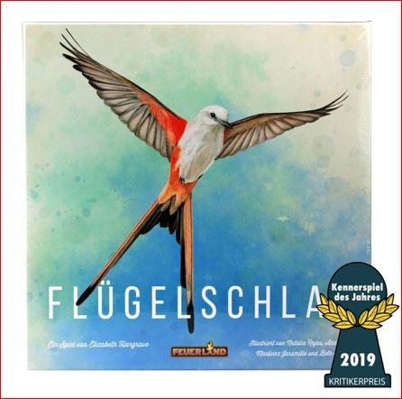 Flügelschlag, Kennerspiel des Jahres 2019 für 34,99 Euro [Globus]