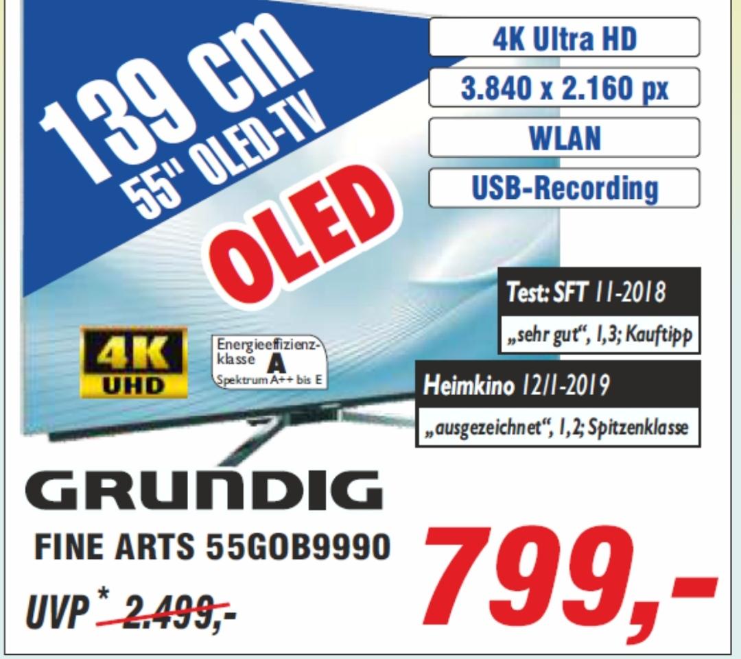 [Lokal 56290 Fernseh Hickman] Grundig OLED-TV 55gob9990 für 800 tacken