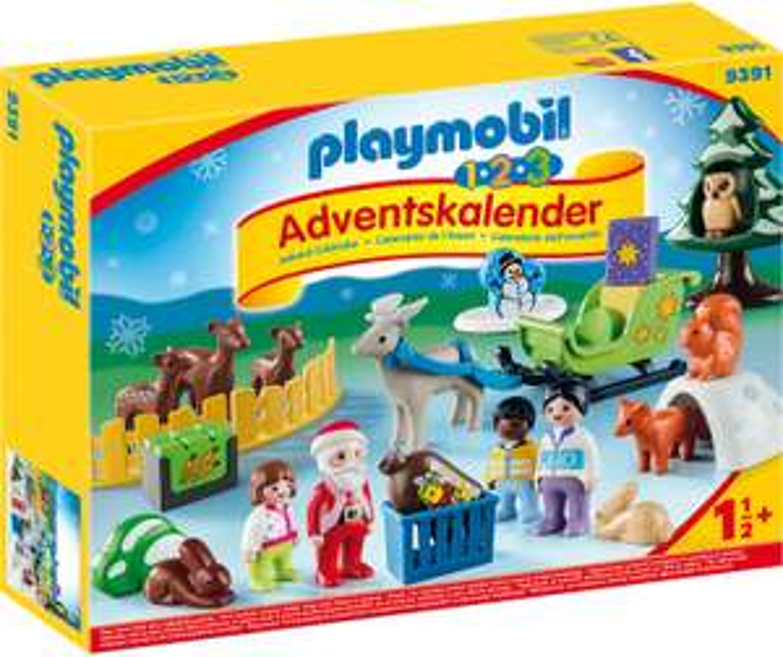 (lokal) Zimmermann Sonderposten (Oldenburg,Hannover,Magdeburg usw.) Playmobil Adventskalender Waldweihnachten der Tiere 9391 für 12,99€