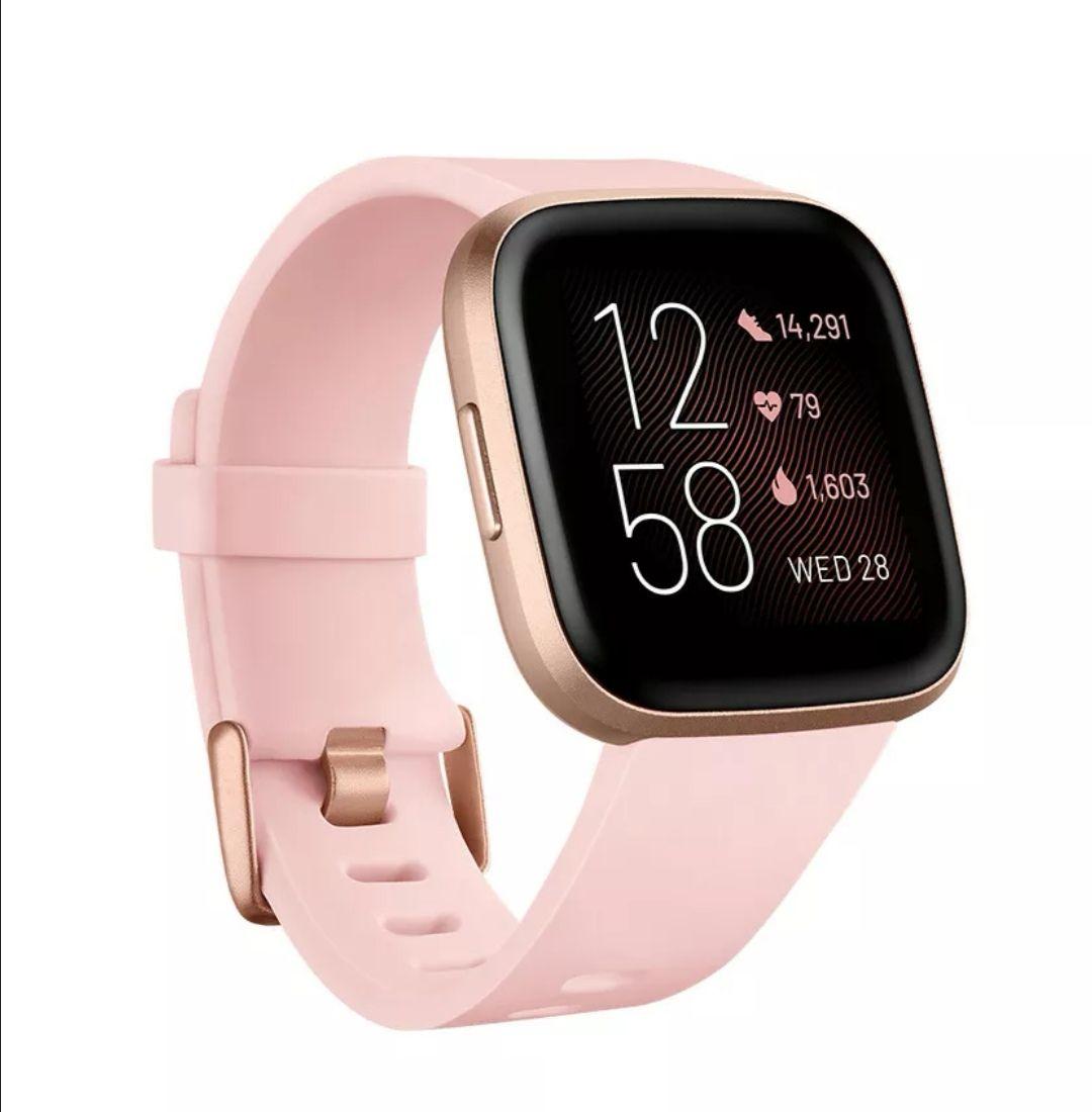 Fitbit Versa 2 Smartwatch roségold