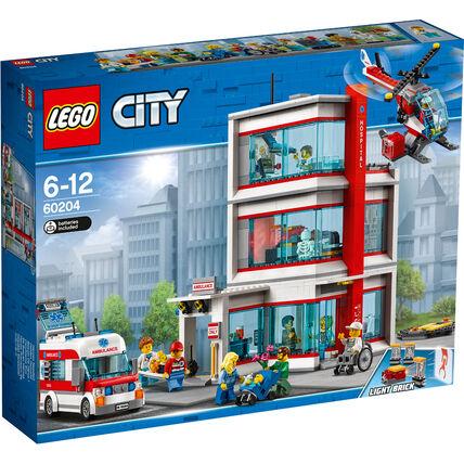 LEGO City Krankenhaus 60204 oder 60174, 60210, 42095, 75249 etc.