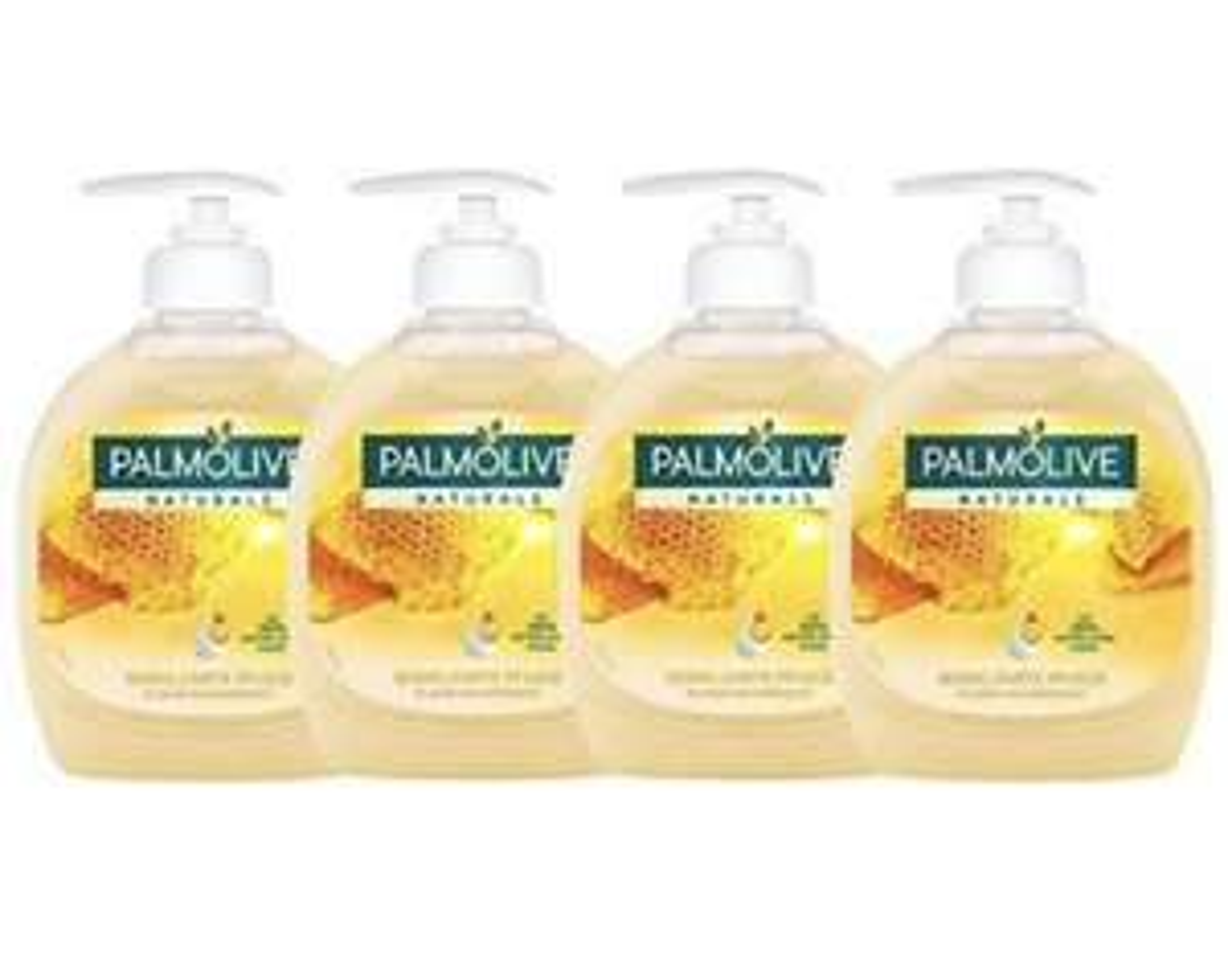[Prime] Palmolive Flüssigseife Milch und Honig, 4er Pack (4 x 300 ml) Preisfehler