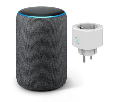 AMAZON Echo Plus 2nd Gen. sprachgesteuerter Lautsprecher, inkl. smarte Steckdose