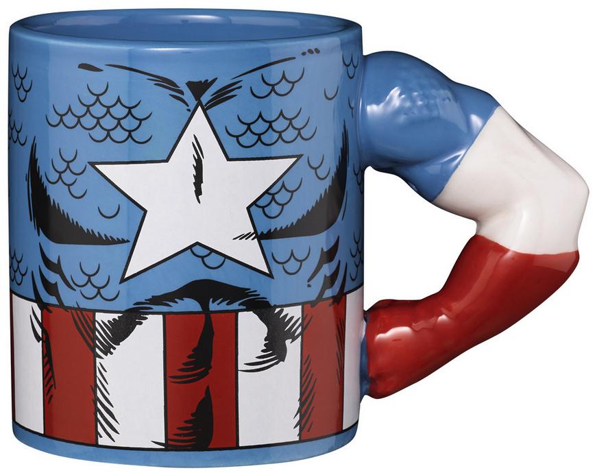Marvel Tasse Captain America, Star Wars Tasse Darth Vader, Star Wars Tasse Chewbacca für je 7,99€ (6,79€ mit Rossmann-Coupon) [MÜLLER]