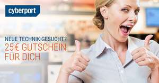 [lokal] Cyberport Berlin 25 € Gutschein bei 200 € MBW