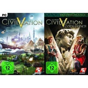 Civilization V inkl. Gods & Kings @ Amazon Adventskalender 8,97€