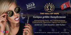 gratis Tickets für die Hall of Vape Hamburg