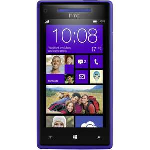 HTC 8X Windows Phone California Blue - Amazon WHD UPDATE