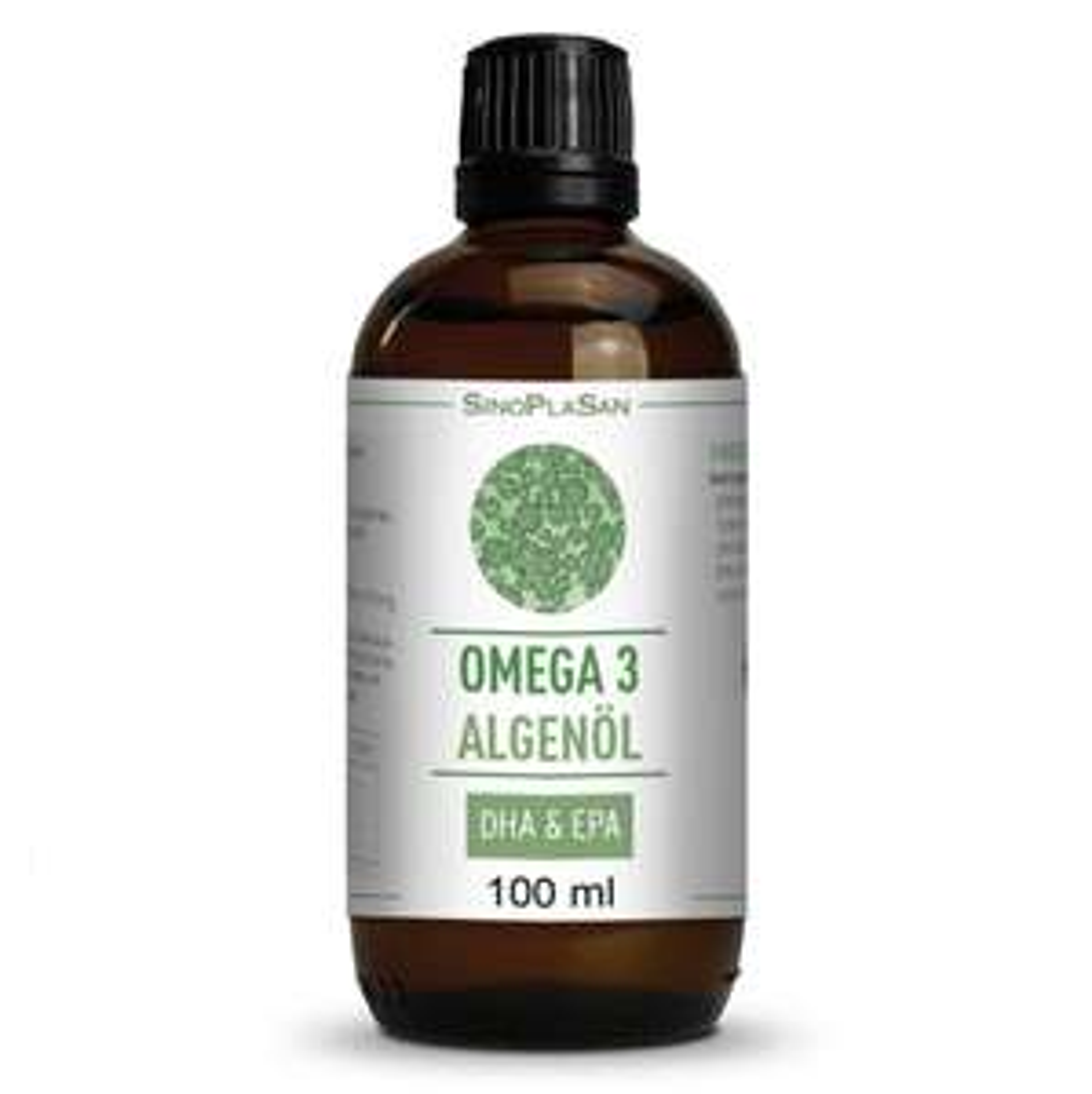 Für die Gesundheit - Omega 3 Öl - vegan