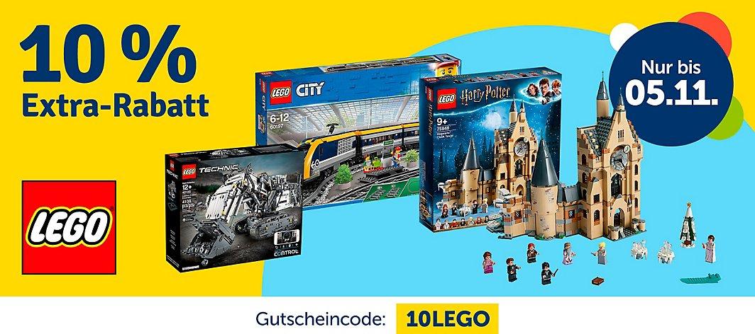 [MyToys] 10% Extra Rabatt auf LEGO