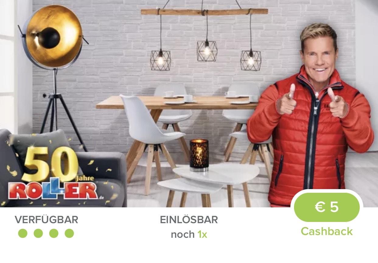[Marktguru] 5.00€ auf Lampen bei ROLLER-Möbelmarkt (ab 20€)