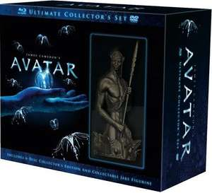 Avatar Ultimate Edition (Blu-ray)  mit Avatar Figur für 27,99  EUR inkl. VSK @ Amazon.es(Spanien)